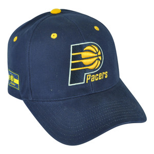 NBA Indiana Pacers HWC Masoli Elevation Velcro Navy Blue Hat Cap Adjustable