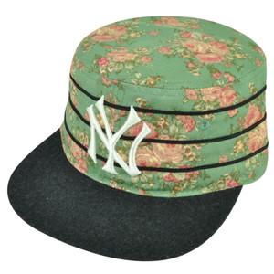 MLB American Needle New York Yankees Off The Vine Cadet Strapback Hat Cap Floral
