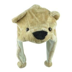 Bear Animal Peruvian Hats Faux Fur Plush Laplander Beanie Youth Fleece Knit
