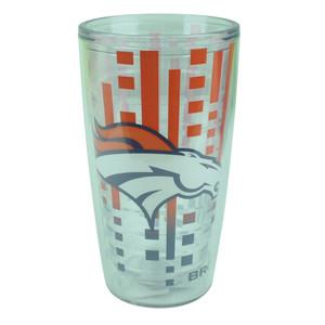 NFL Denver Broncos Slime line 16oz Tumbler Translucent Cup Design Water Liquid
