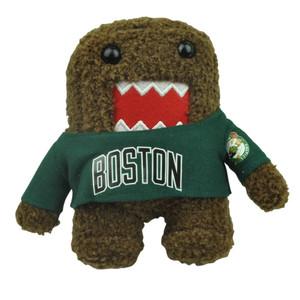 "NBA Domo Kun Boston Celtics Plush Small Teddy Mini 6"" Brown Cartoon Stuffed"