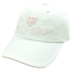 NCAA Texas A&M Aggies Girl Womens Garment Wash Slouch Ladies Sun Buckle Hat Cap