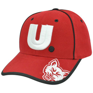 NCAA South Dakota Coyotes Constructed Adjustable Velcro Logo Curved Bill Hat Cap