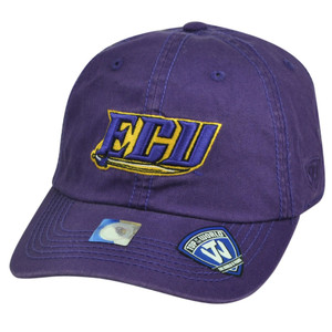NCAA East Carolina Pirates Top of the World Sun Buckle Garment Wash Hat Cap