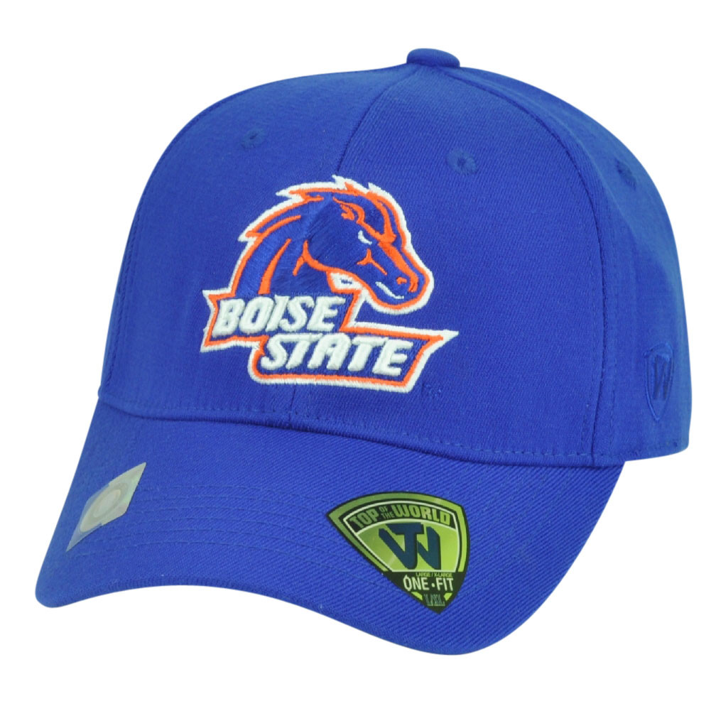best service d1a1a 37352 ... wholesale ncaa boise state broncos top of the world flex fit large  stretch hat 3daa8 91e15