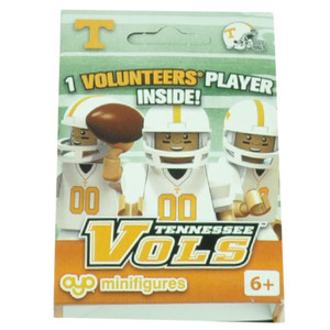 NCAA Tennessee Volunteers Mini Figures Player Build Collect Toy Vols Football
