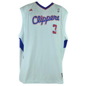 NBA Los Angeles Clippers LA 105 Pro 3 Chris Paul Jersey 2XLarge XXL White Adidas