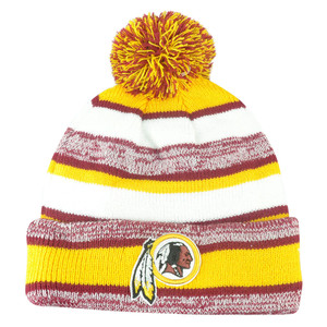 NFL New Era Washington Redskins 2014 Sideline On Field Sport Knit Cuffed Beanie