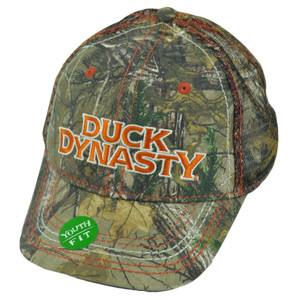 A&E TV Series Duck Dynasty Realtree Youth Mesh Camouflage Slouch Velcro Hat Cap