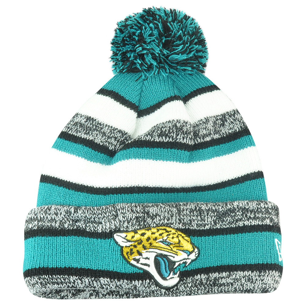 NFL New Era Jacksonville Jaguars 2014 Sideline On Field Sport Knit Cuffed  Beanie. Price   24.95. Image 1 7f879c9f7