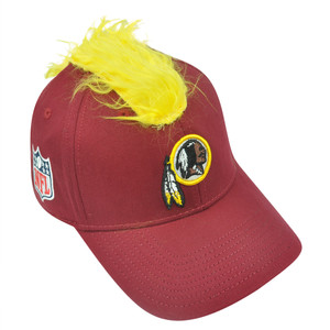 NFL Washington Redskins Spike Flex Fit Small Medium Mohawk Reebok Hat Cap Stretc