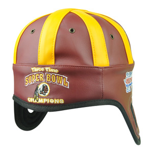 NFL Reebok Washington Redskins 3 Times Super Bowl Champ XVII Helmet Head Hat
