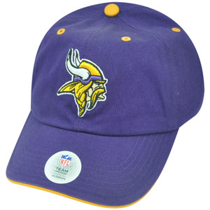 NFL Minnesota Vikings Opening Act Womens Ladies Purple Sun Buckle Hat Cap Relax