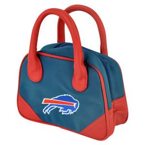 NFL Buffalo Bills Mini Bowler Hand Bag Two Tone Accessories Football Womens