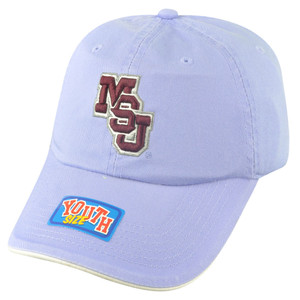NCAA Mississippi State Bulldogs Youth Sun Buckle Hat Cap Girl Relaxed Purple