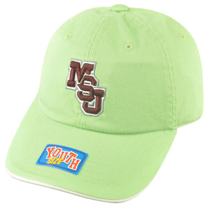 NCAA Mississippi State Bulldogs Youth Sun Buckle Hat Cap Girl Relaxed Green