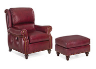 Westwood tilt back Chair and Ottoman