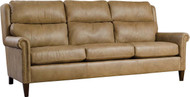 Woodlands Leather Sofa
