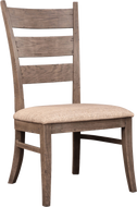 Modern Loft Ladder Back Side Chair