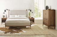 Walnut Grove Upholstered Bed