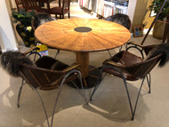Pacific Green Table and 4 Chairs