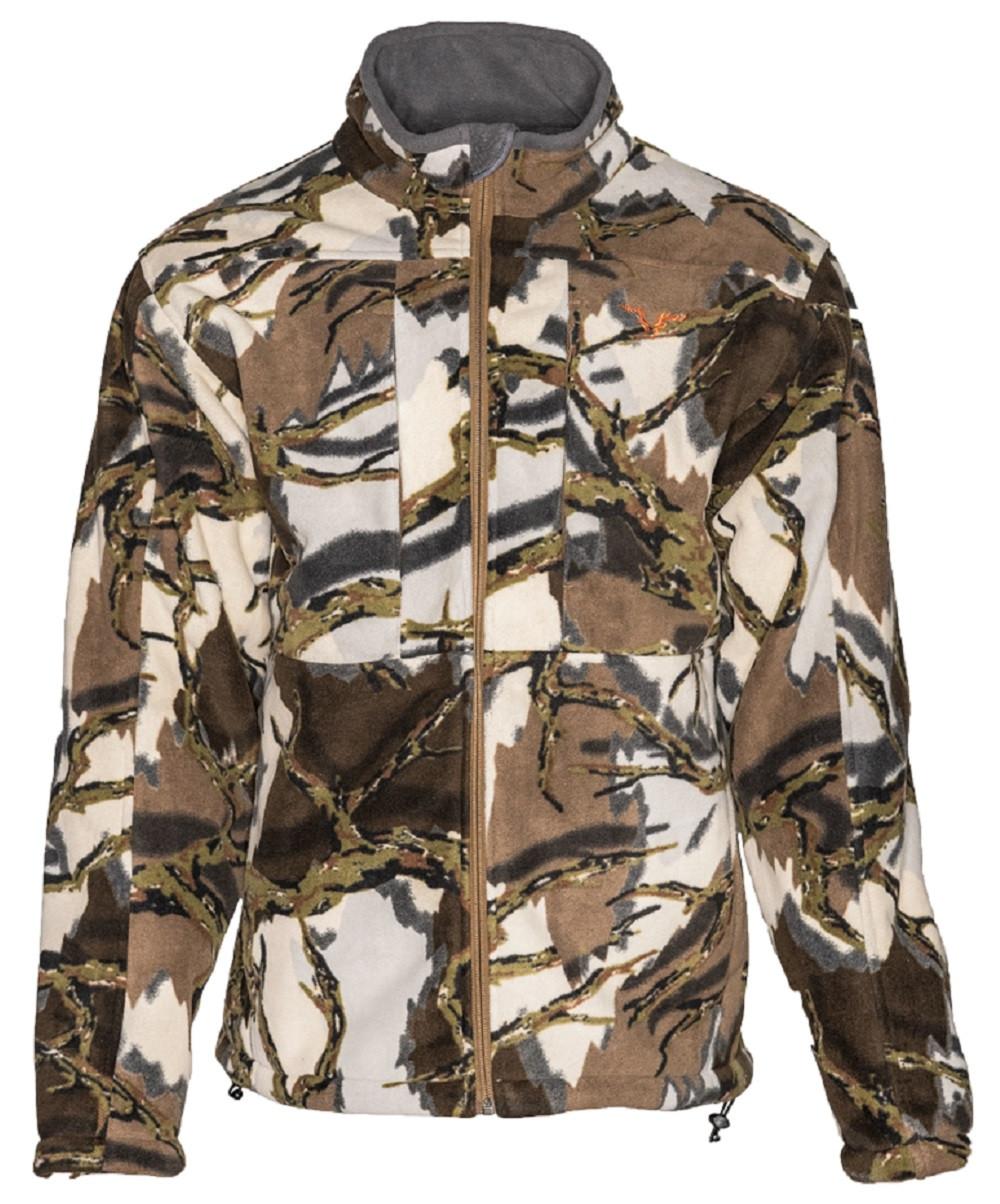 5bce8a3fbd9e8 ... Stealth Micro Fleece Jacket. Brown Deception