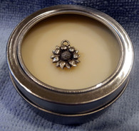 Gardenia - Electra's Butter Lotion (Small With Sunflower Charm)