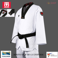 Mooto BS4.5 Taekwondo Uniform Belt WTF NEW EMBLEM Mark TKD Martial Arts School