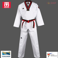 Mooto BS4.5 3 POOM Taekwondo Uniform WTF Kids Dobok Junior TKD Martial Arts