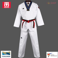 Mooto BS4.5 2 POOM Taekwondo Uniform WTF Kids Dobok Junior TKD Martial Arts