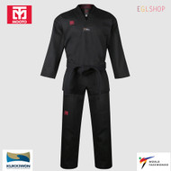 Mooto BS4.5 Black Color V Neck Taekwondo Uniform WTF DAN Dobok TKD Martial Arts