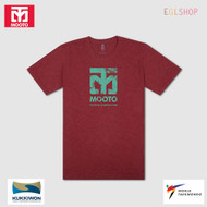 Mooto Logo Slub T shirts Taekwondo Light Weight Cool Summer Cotton 100 Crew Neck
