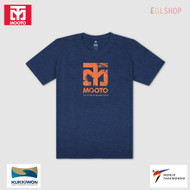 Mooto Logo Slub T shirts Taekwondo Light Weight Cool Summer Cotton 100