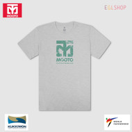 Mooto Logo Slub T shirts Taekwondo Light Weight Cool Summer Cotton