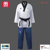 Mooto Women TAEBEK POOMSAE Taekwondo Uniform WT Approved Dan Dobok Martial Arts