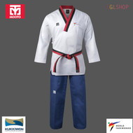 Mooto Men TAEBEK POOMSAE Taekwondo Uniform WT Approved Poom Dobok Martial Arts