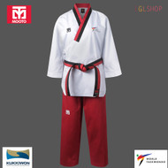 Mooto Women TAEBEK POOMSAE Taekwondo Uniform WT Approved Poom Dobok Martial Arts