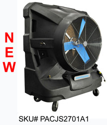 "NEW 48"" Portacool Jetstream™ 270 Portable Evaporative Cooler - PACJS2701A1 - 22,500 CFM - 5,625 sq. ft."