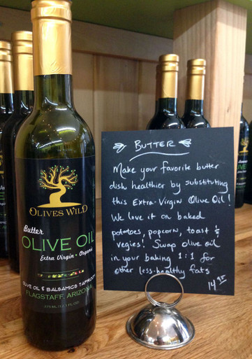 Butter Olive Oil from Olives Wild