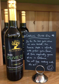 Garlic Olive Oil from Olives Wild