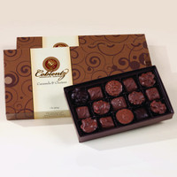 Chocolate Caramels & Clusters - Gift Box