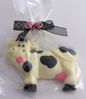 Chocolate Cow-Set of 3