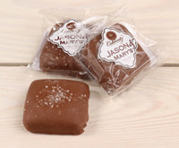 Jason & Mary's Oversized Treats-Milk Chocolate Sea Salt Caramels x3