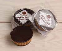 Jason & Mary's Oversized Treats-Dark Chocolate Peanut Butter Cups x3