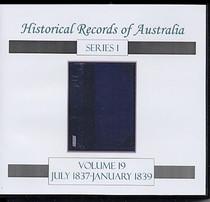 Historical Records of Australia Series 1 Volume 19