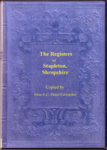 Shropshire Parish Registers: Stapleton 1546-1812