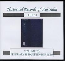Historical Records of Australia Series 1 Volume 20