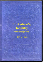 Yorkshire Parish Registers: Keighley, St Andrew's 1562-1649