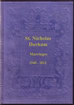 Durham Parish Registers: Durham (St Nicholas) 1540-1812