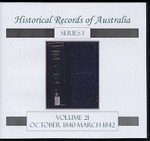 Historical Records of Australia Series 1 Volume 21